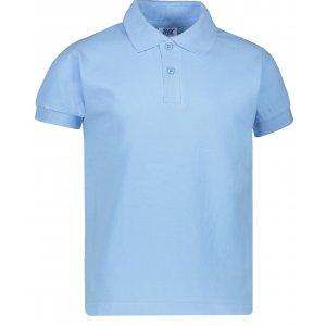 Dětské triko s límečkem JHK KID POLO SKY BLUE