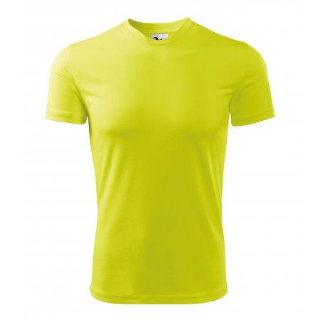 Pánské funkční triko MALFINI FANTASY 124 NEON YELLOW