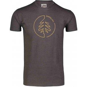 Pánské triko NORDBLANC CIRCLET NBSMT7257 GRAFITOVÝ MELÍR