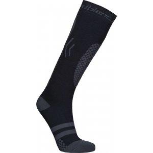 Lyžařské kompresní ponožky NORDBLANC NBSX16380 CRYSTAL ČERNÁ