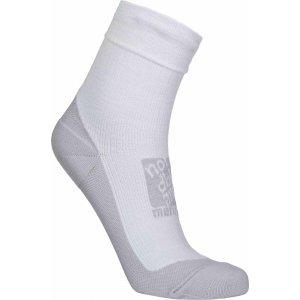 Kompresní ponožky NORDBLANC NBSX16371 SVĚTLE ŠEDÝ MELÍR