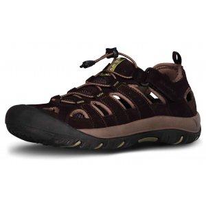Pánské sandále NORDBLANC ORBIT NBSS70 TMAVĚ HNĚDÁ