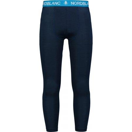 Pánské termo kalhoty NORDBLANC TENSILE NBWFM6871 ŽELEZNÁ MODRÁ