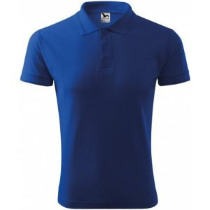 Pánské triko s límečkem MALFINI PIQUE POLO 203 KRÁLOVSKÁ MODRÁ