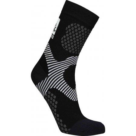 Sportovní ponožky NORDBLANC NBSX16376 CRYSTAL ČERNÁ