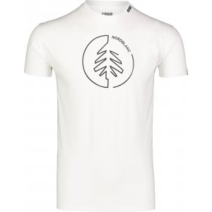 Pánské triko NORDBLANC CIRCLET NBSMT7257 BÍLÁ