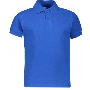 Dětské triko s límečkem JHK KID POLO ROYAL BLUE