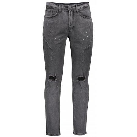 Pánské džíny OMBRE AP890 BLACK