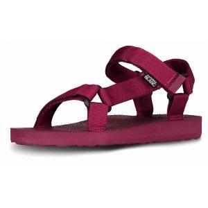 Dámské sandále NORDBLANC GLAM NBSS6883 TMAVÁ VÍNOVÁ