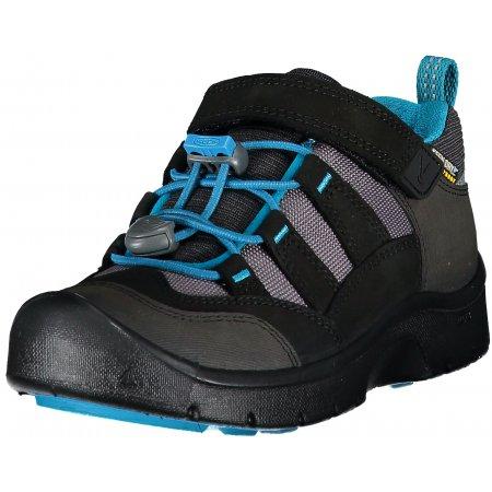 Dětské boty KEEN HIKEPORT WP K BLACK/BLUE JEWEL