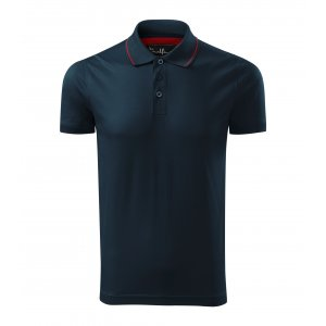 Pánské triko s límečkem MALFINI PREMIUM GRAND 259 NÁMOŘNÍ MODRÁ