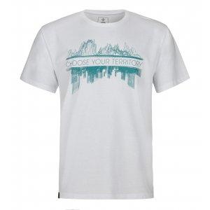 Pánské triko KILPI TERRITORY-M MM0087KI BÍLÁ
