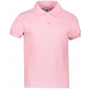 Dětské triko s límečkem JHK KID POLO PINK