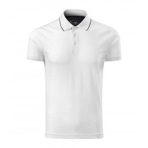 Pánské triko s límečkem MALFINI PREMIUM GRAND 259 BÍLÁ