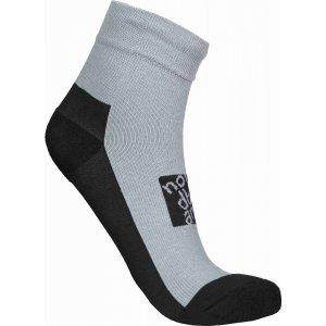 Ponožky NORDBLANC NBSX16381 SVĚTLE ŠEDÝ MELÍR
