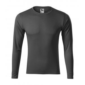 Pánské funkční triko s dlouhým rukávem MALFINI PRIDE 168 OCELOVĚ ŠEDÁ