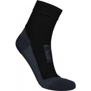 Kompresní ponožky NORDBLANC NBSX16371 CRYSTAL ČERNÁ