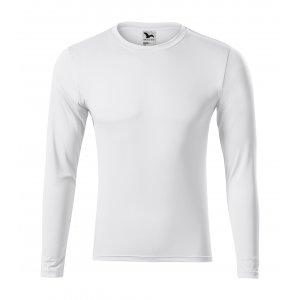 Pánské funkční triko s dlouhým rukávem MALFINI PRIDE 168 BÍLÁ