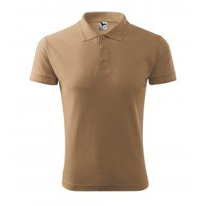 Pánské triko s límečkem MALFINI PIQUE POLO 203 PÍSKOVÁ