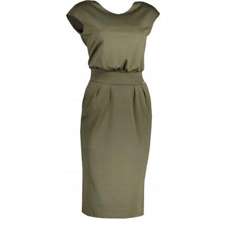 Dámské šaty NUMOCO SARA A144-5 KHAKI