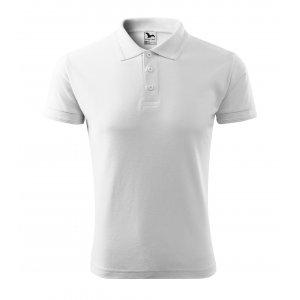 Pánské triko s límečkem MALFINI PIQUE POLO 203 BÍLÁ