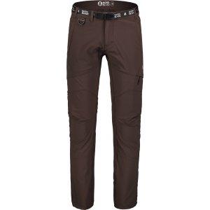 Pánské kalhoty NORDBLANC EXHORT NBSPM7123 TEMNĚ HNĚDÁ
