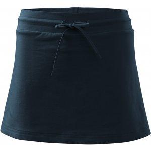 Dámská sukně s kraťasy MALFINI TWO IN ONE 604 NÁMOŘNÍ MODRÁ