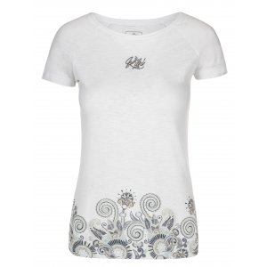 Dámské triko KILPI MINT-W ML0086KI BÍLÁ