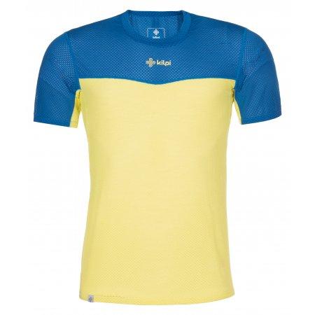 Pánské funkční triko KILPI COOLER-M MM0055KI ŽLUTÁ