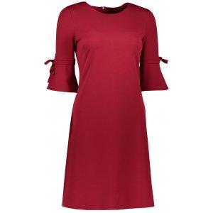 Dámské šaty NUMOCO A217-3 ČERVENÁ
