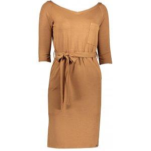 Dámské šaty NUMOCO A278-3 KARAMEL