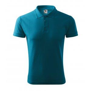 Pánské triko s límečkem MALFINI PIQUE POLO 203 TMAVÝ TYRKYS