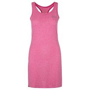 Dámské šaty KILPI SONORA-W ML0020KI RŮŽOVÁ