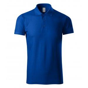 Pánské triko s límečkem PICCOLIO JOY P21 KRÁLOVSKÁ MODRÁ