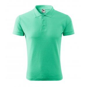 Pánské triko s límečkem MALFINI PIQUE POLO 203 MÁTOVÁ