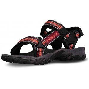 Dámské sandále NORDBLANC WELLY NBSS6878 TMAVĚ ČERVENÁ