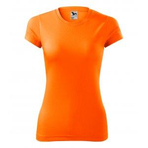 Dámské funkční triko MALFINI FANTASY 140 NEON ORANGE