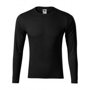 Pánské funkční triko s dlouhým rukávem MALFINI PRIDE 168 ČERNÁ