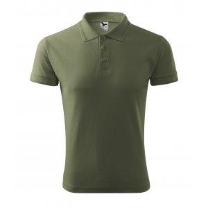Pánské triko s límečkem MALFINI PIQUE POLO 203 KHAKI