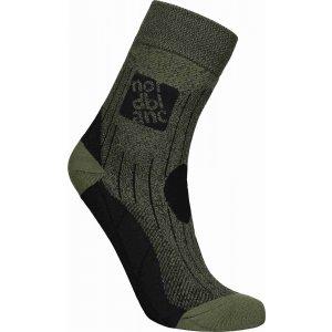 Ponožky NORDBLANC NBSX16379 KHAKI MELÍR