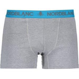 Pánské boxerky NORDBLANC FIERY NBSPM6866 TMAVĚ ŠEDÁ