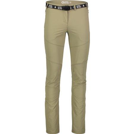 Dámské kalhoty NORDBLANC LIABLE NBSPL7130 SVĚTLE HNĚDÁ