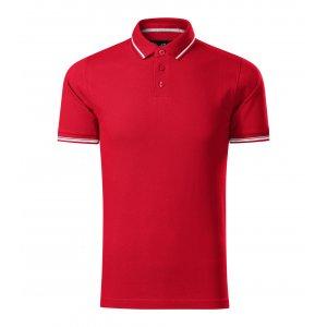 Pánské triko s límečkem MALFINI PREMIUM PERFECTION PLAIN 251 FORMULA RED