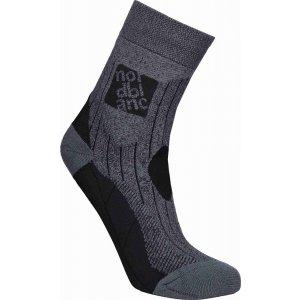 Ponožky NORDBLANC NBSX16379 GRAFITOVÝ MELÍR