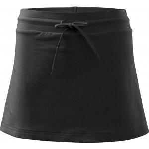 Dámská sukně s kraťasy MALFINI TWO IN ONE 604 ČERNÁ