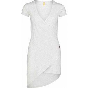 Dámské šaty NORDBLANC LAVE NBSLD7239 SVĚTLE ŠEDÝ MELÍR
