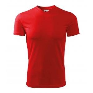 Pánské funkční triko MALFINI FANTASY 124 ČERVENÁ