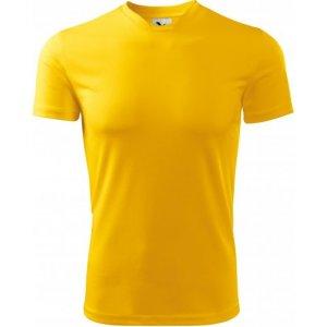 Pánské funkční triko MALFINI FANTASY 124 ŽLUTÁ