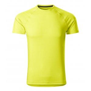 Pánské funkční triko MALFINI DESTINY 175 NEON YELLOW
