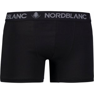 Pánské boxerky NORDBLANC FIERY NBSPM6866 CRYSTAL ČERNÁ